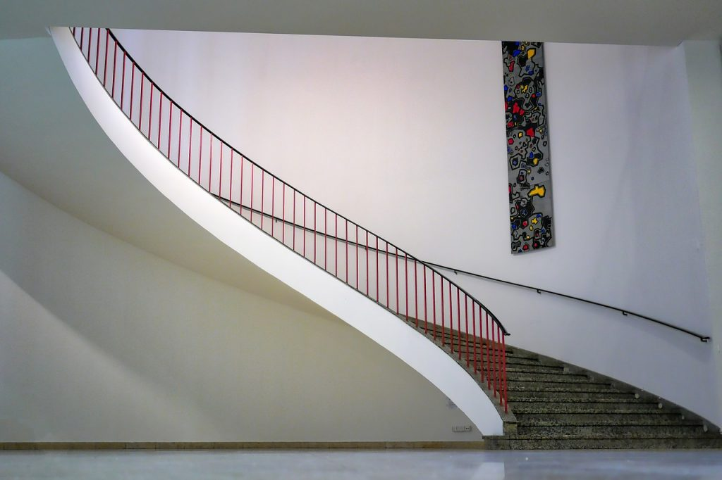 INOX balustrade
